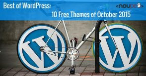 10 Free WordPress Themes of October 2015