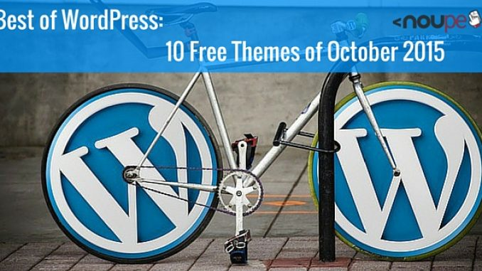 10 Free WordPress Themes of October 2015