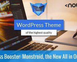 WordPress Booster: Monstroid, the New All-in-One Theme