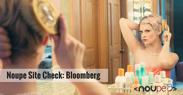 Noupe Site Check Bloomberg