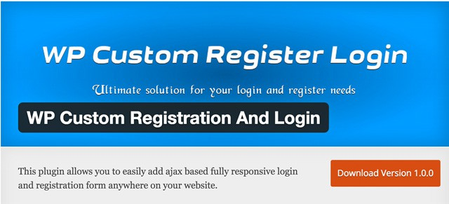 wp-custom-registration-and-login