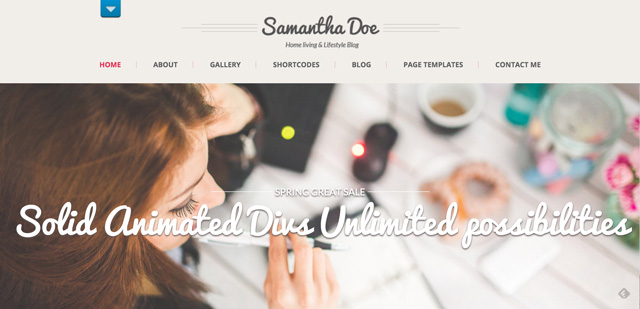 Free WordPress Themes: Girlie