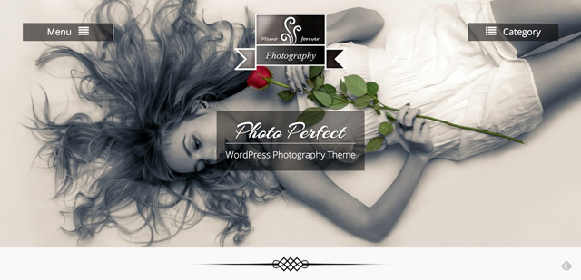 Free WordPress Themes: Photo Perfect