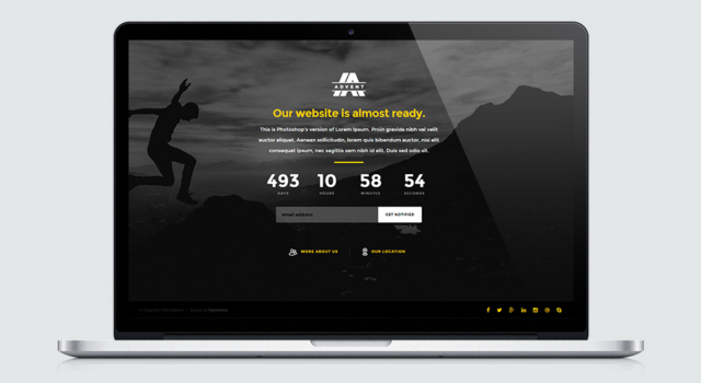 Advent: HTML5 Template