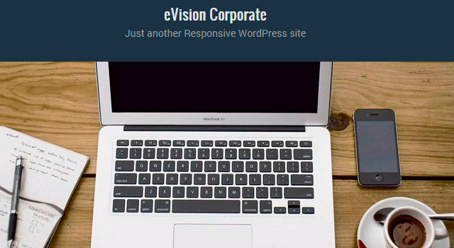 Corporate Flat WordPress Theme