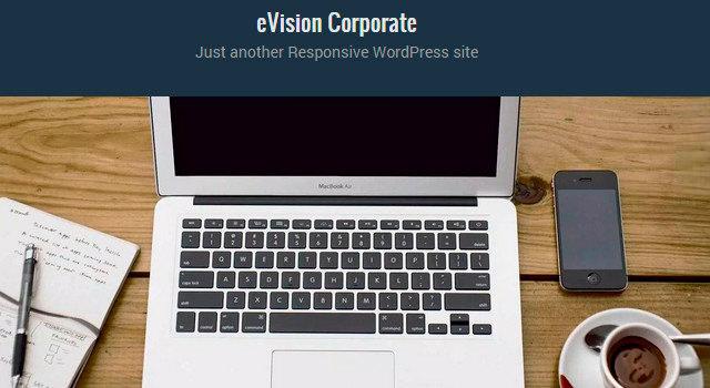 Corporate Flat WordPress Theme