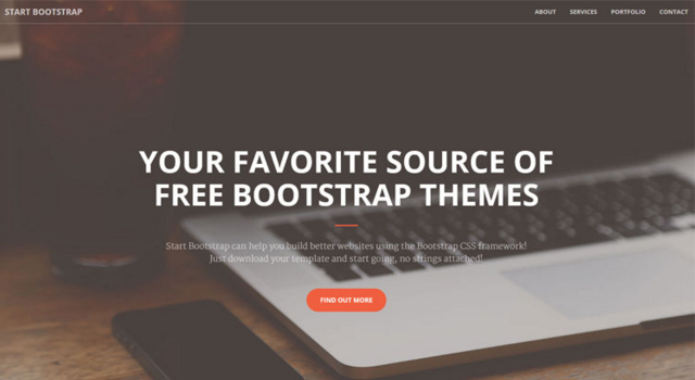Creative:  Minimal One-page Bootstrap Template