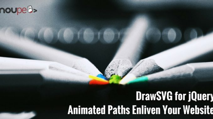 DrawSVG for jQuery - Animated SVG Enlivens Your Website
