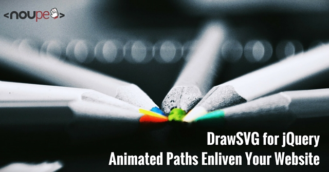 DrawSVG for jQuery - Animated Paths Enliven your Website