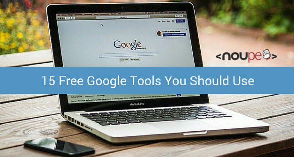 15 Free Google Tools You Should Use
