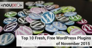 Top 10 Fresh, Free WordPress Plugins of November 2015
