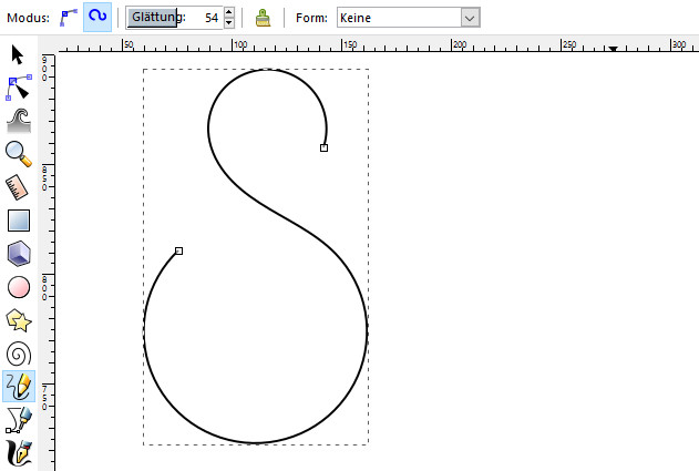 Drawing Lines With Inkscape : Ditch bezier curves beautiful drawings using spiral tools