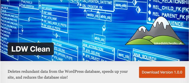 Free WordPress Plugins: lwd-clean-plugin