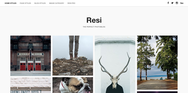 Free WordPress Themes: Resi