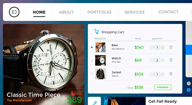 Shopping and Social UI Kit