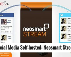 Social Media Self-hosted: Neosmart Stream