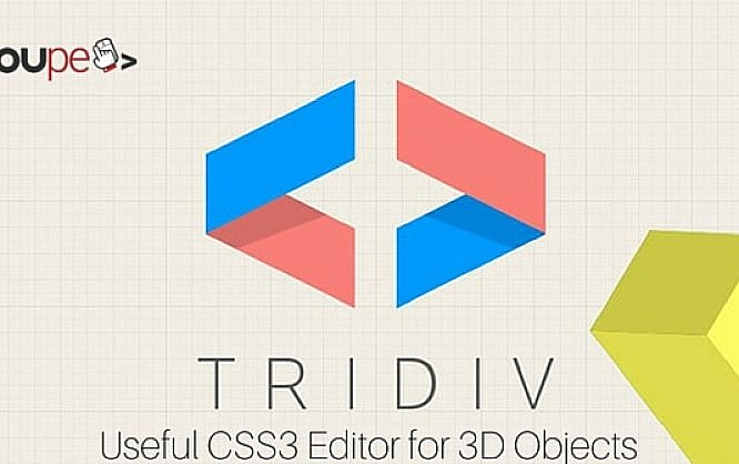 Tridiv useful css3 editor for 3d objects noupe for 3d object editor