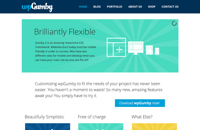 Free WordPress Themes: WPGumby WordPress-Theme
