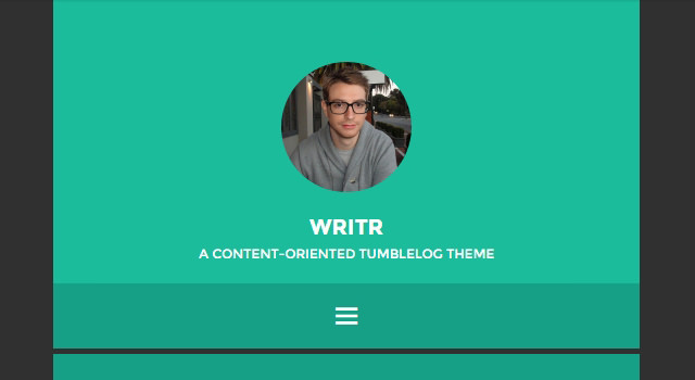 Writr: Minimal Blogging WordPress Theme