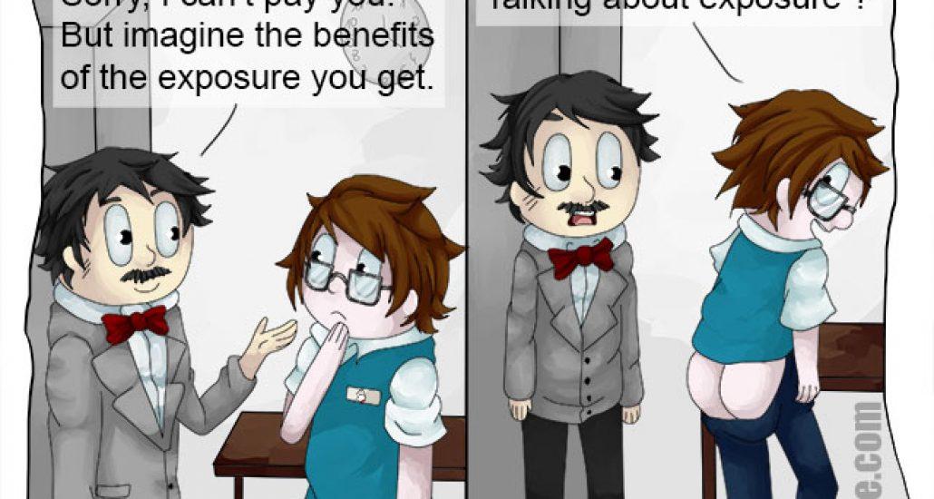 Cartoon: Exposure
