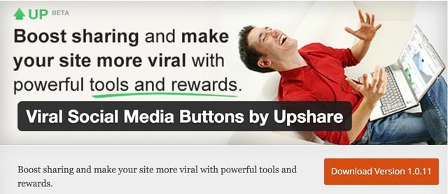 Viral-social-media-buttons
