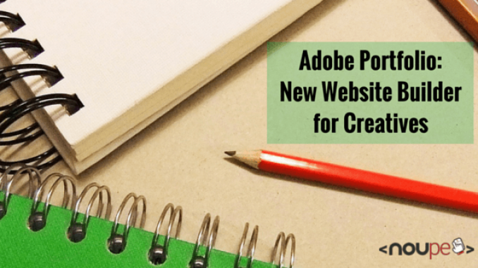 New Website Builder for Creatives