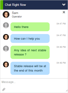 Output Desk Live Chat