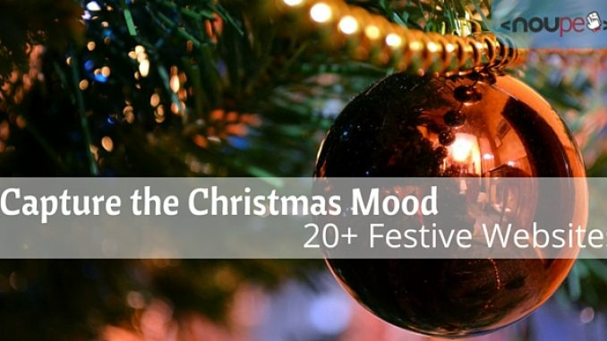 Capture the Christmas Mood: