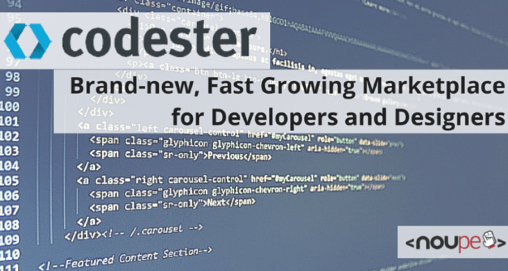 Codester: Brand-new, Fast Growing Marketplace for Developers and Designers