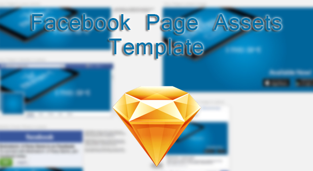 facebook page assets sketch template noupe