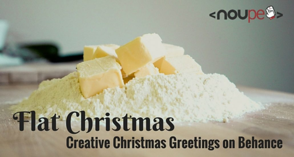 Flat Christmas: Creative Xmas Greetings on Behance