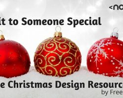 Give it to Someone Special: Free Christmas Design Resources by Freepik