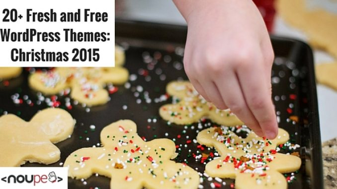 20+ Fresh and Free WordPress Themes: Christmas Edition 2015