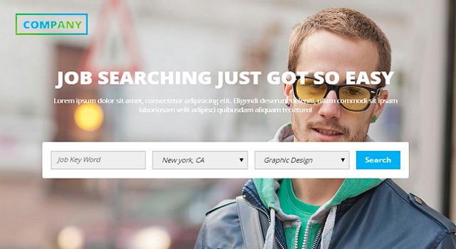 Jonaki: Job Board Website Template