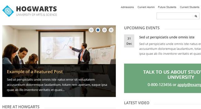 Lectura: Lite Free WordPress Theme | AcademiaThemes