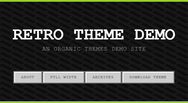 Retro Theme: Videogame Blogging WordPress Theme