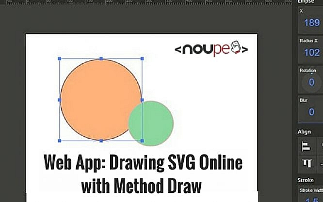 Web App Drawing Svg Online With Method Draw Noupe
