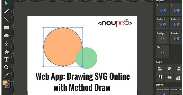 Web App: Drawing SVG Online with Method Draw