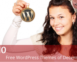 Top 10: Free WordPress Themes of December 2015