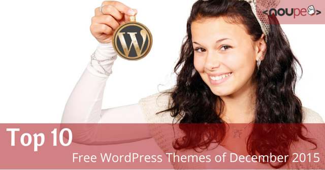 Free WordPress Themes of December 2015