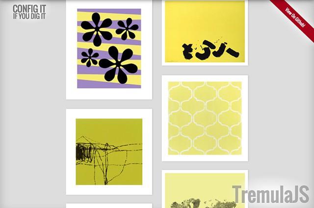 TremulaJS als Bildergalerie
