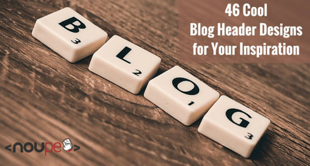 46 Cool Blog Header Designs for Your Inspiration