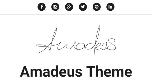 Amadeus: Music Related WordPress Theme