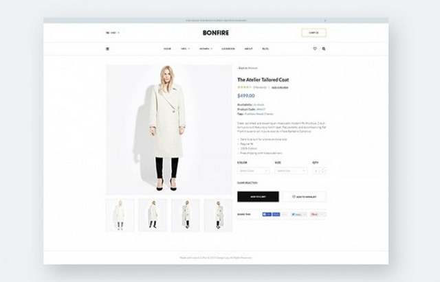 bonfire - product page