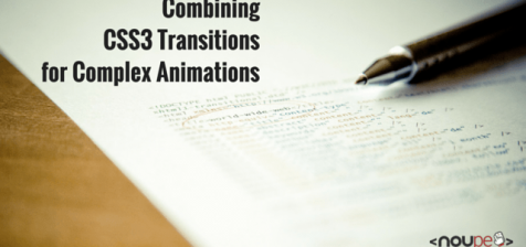 Combining CSS3 Transitions for Complex Animations