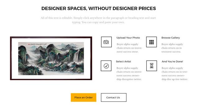 Designer Portfolio PSD Web Template