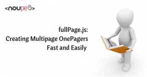 fullPage.js: Creating Multipage OnePagers Fast and Easily