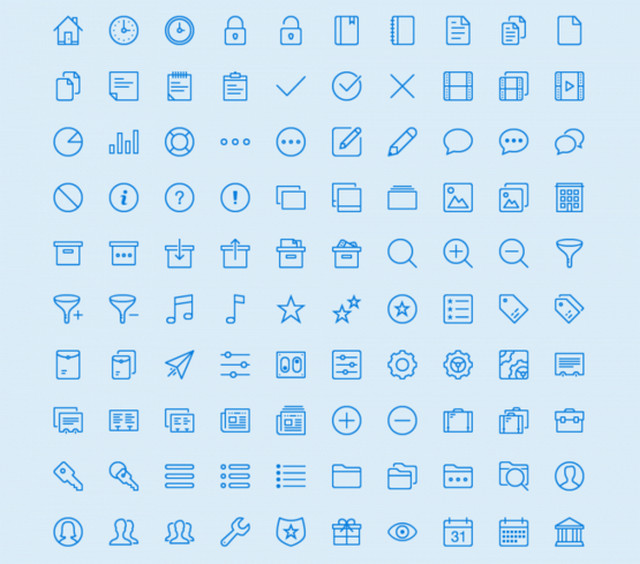 general vector icons