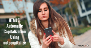 "HTML5: Automatic Capitalization Using ""autocapitalize"""
