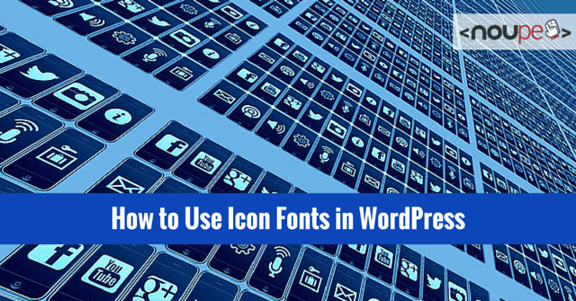 How to Use Icon Fonts in WordPress